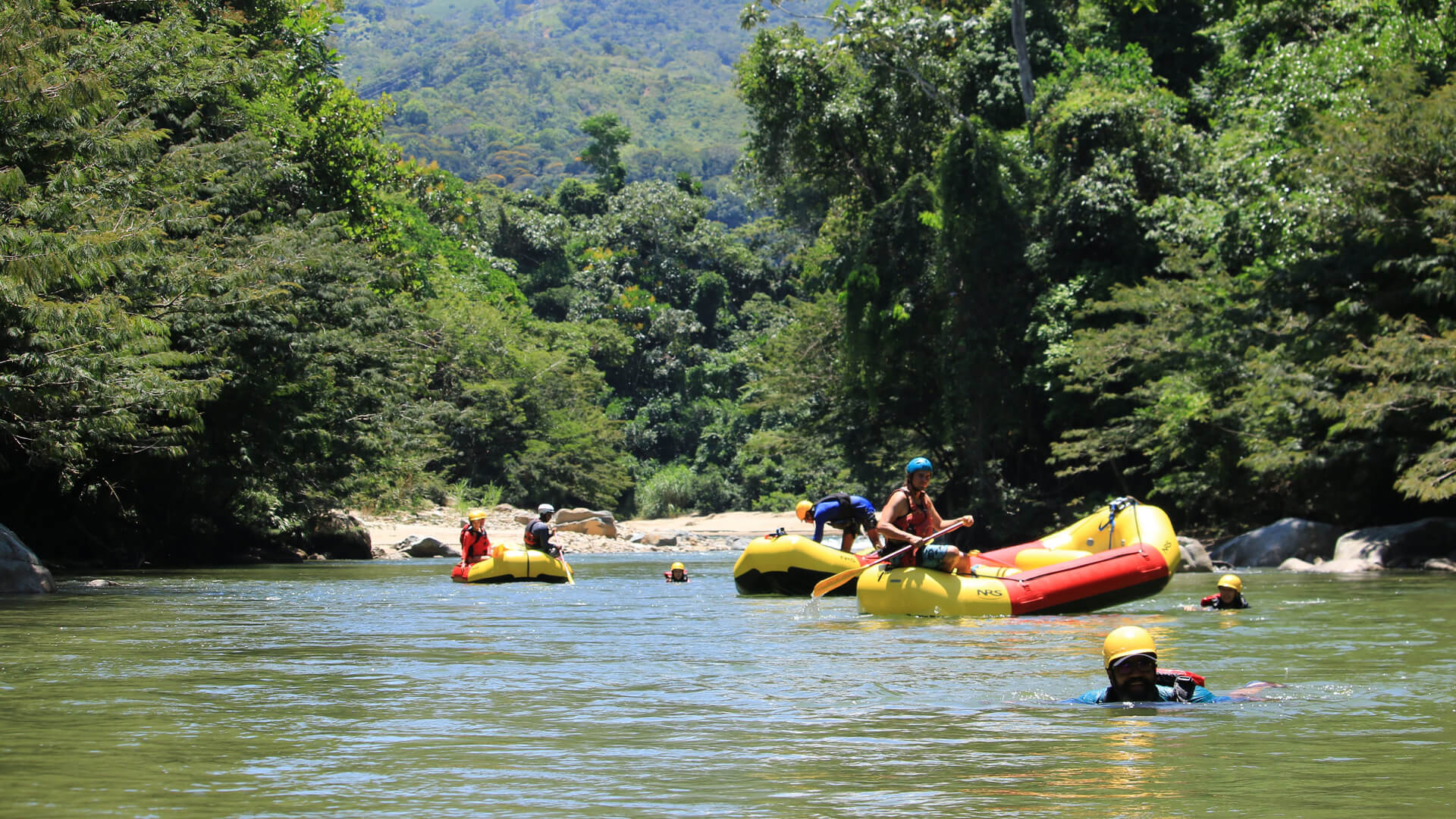 colombia rafting