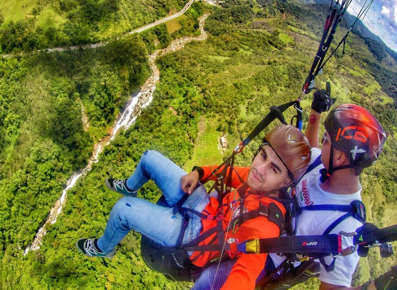 Paragliding Colombia | Paragliding Medellin | Outdoor